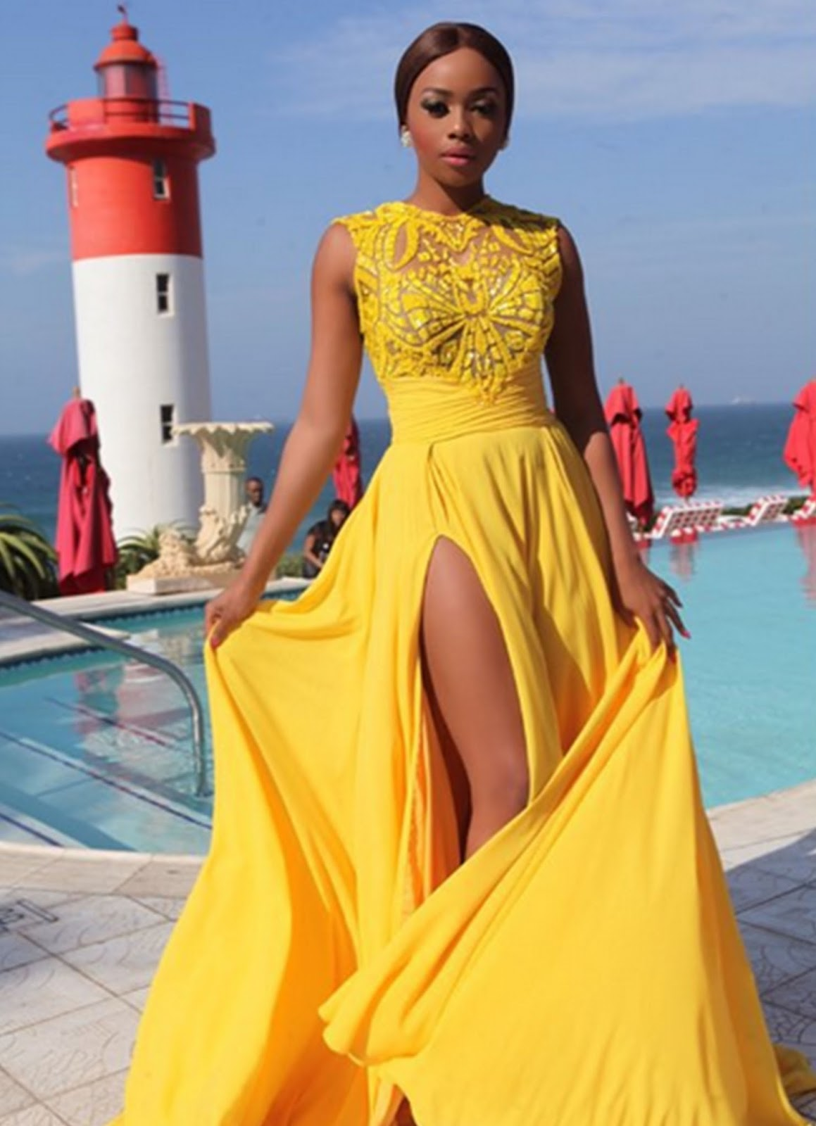 Yellow Prom Outfits